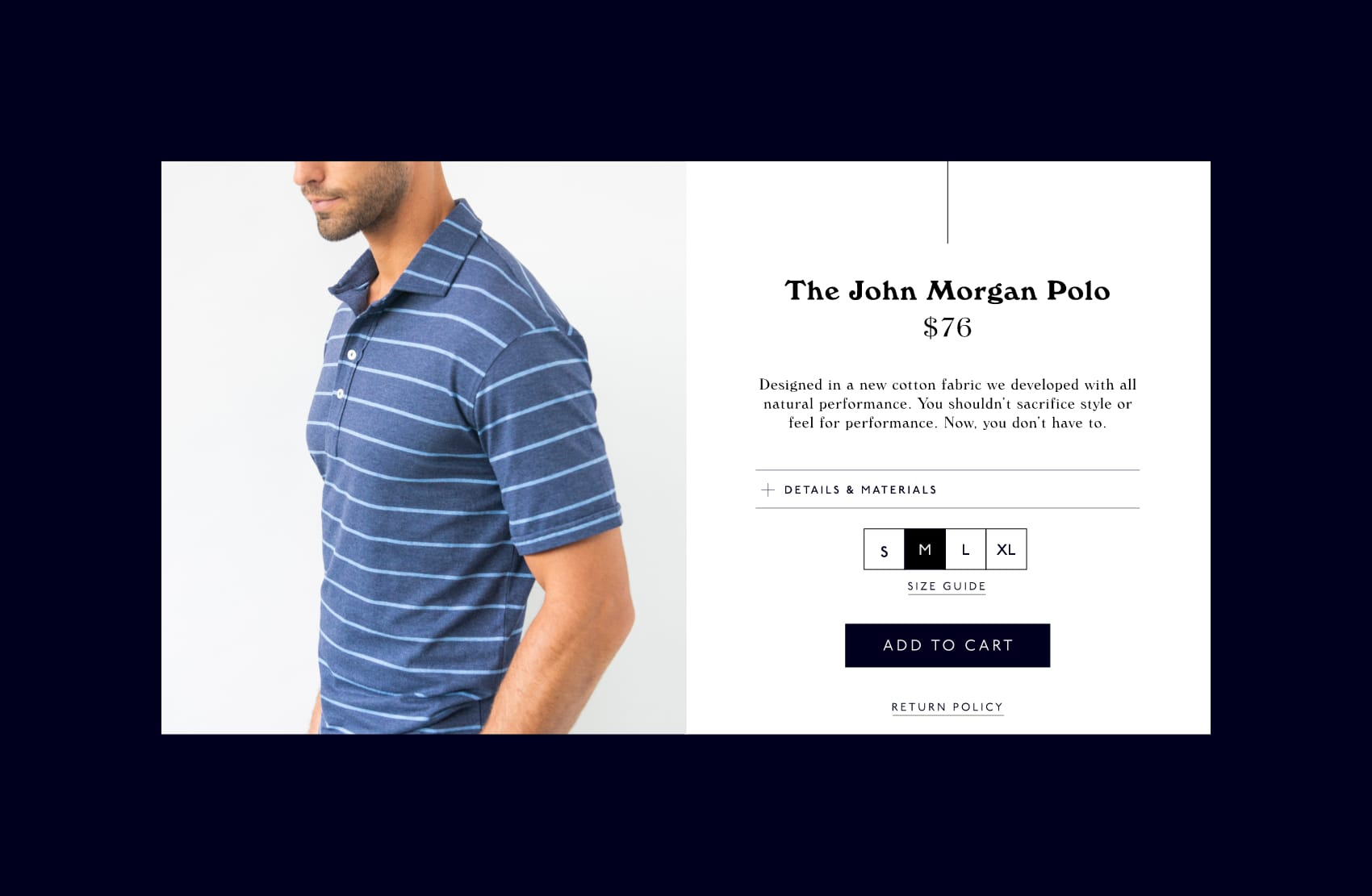 john morgan product page