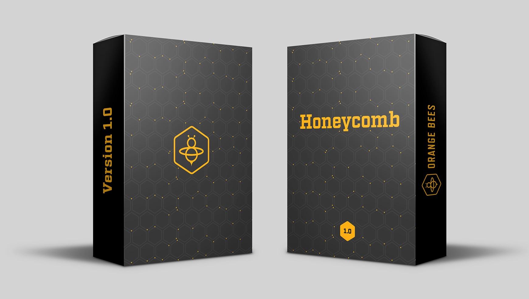 orange bees box web